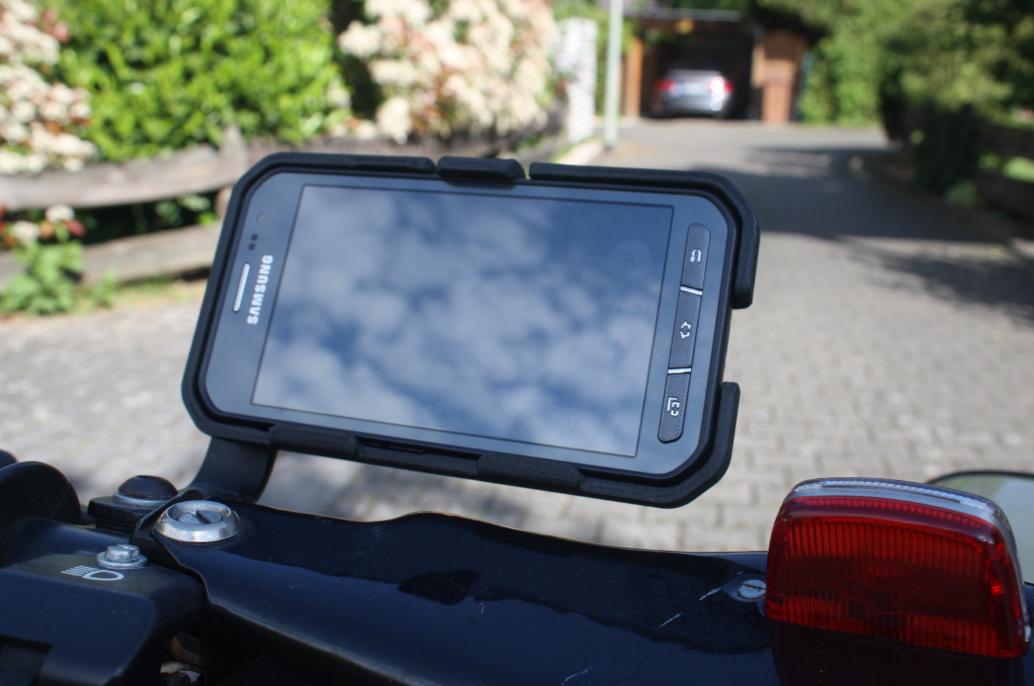 Motorrad Smartphonehalterung