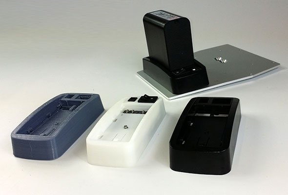 Batteriehalter für Aibotix