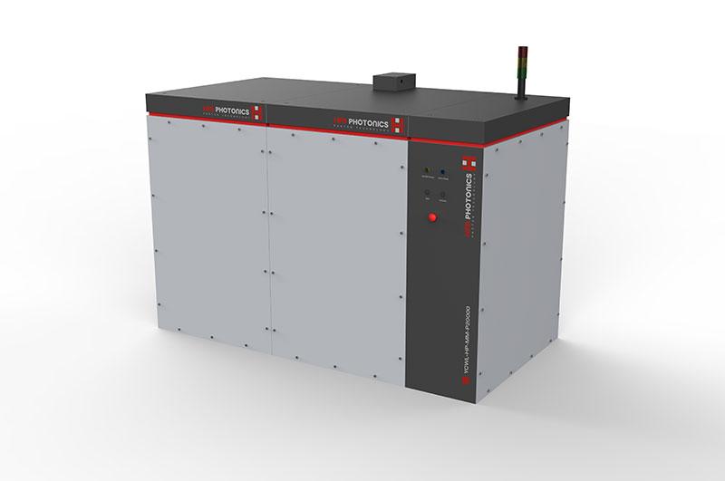 Produktdesign und technische Entwicklung für eine Laserschneidemaschine.