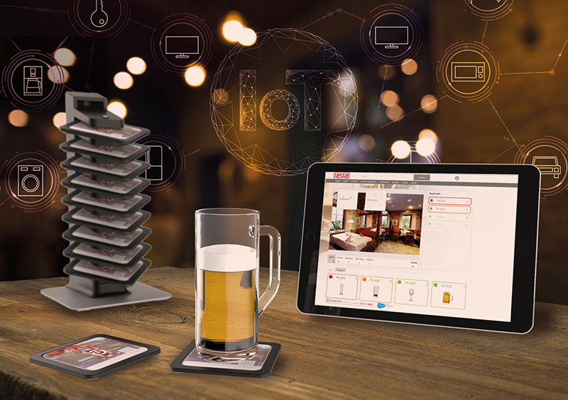 SmartCall intelligent coaster wins German Innovation Award